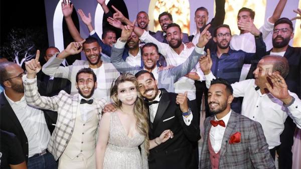 لاعب الترجي علاء المرزوقي يدخل القفص الذهبي