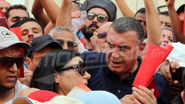 وقفة احتجاجية معارضة للإجراءات الرئاسية ليومي 25 جويلية و 22 سبتمبر