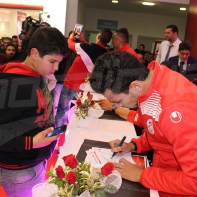 حصة إهداءات للمنتخب الوطني التونسي