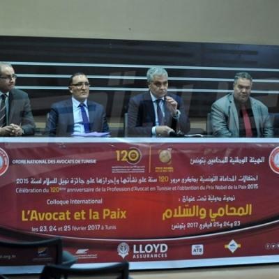 'المحامي والسلام': ندوة لاحياء مرور 120 سنة منذ نشأة المحاماة التونسية