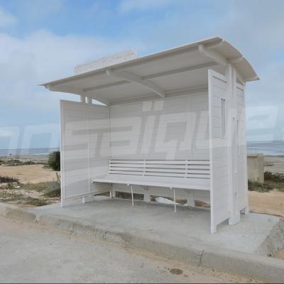 جربة : أهالي منطقة 'غيزن' يحوّلون محطات خشبية إلى لوحات فنية 