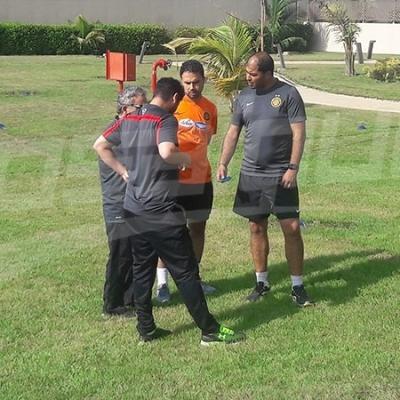 أخر حصة تدريبية للترجي في كوناكري