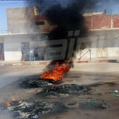 Tataouine: Fermeture de la route reliant Rmada à Tataouine