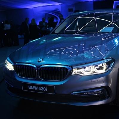 Lancement de la nouvelle BMW Serie 5