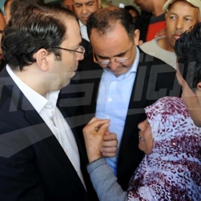Chahed visite Naassen, Borj Touil et Ennahli