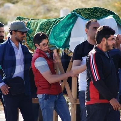 Les funérailles de l'acteur Mohamed Akkari