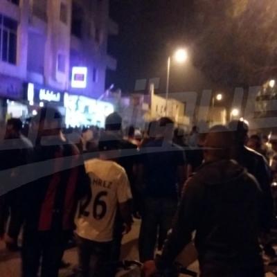 Manifestations nocturnes à Tataouine