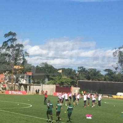 L'ambiance d'avant-match Kampala City - Club Africain