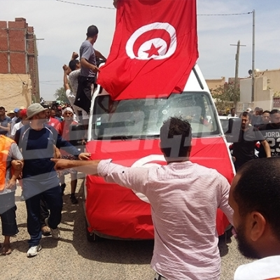 Tataouine: Funérailles du jeune Anouer Kafrafi