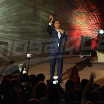 'راغب علامة ' يشعل مسرح قرطاج