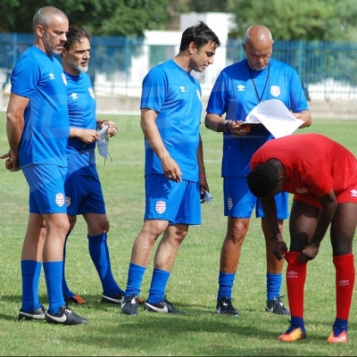 الحصة التدريبية الاولى للنادي الافريقي بقيادة سيموني