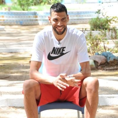 Salah Mejri au centre de rééducation des mineurs délinquants à Bizerte