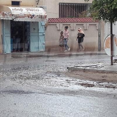 Kasserine : Précipitations de pluie après la hausse des températures