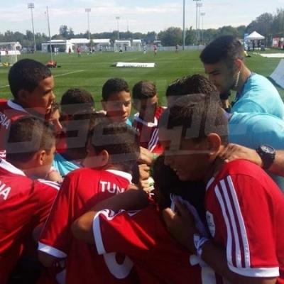كأس دانون للأمم 2017 : تونس ( النادي الافريقي ) تفوز امام بلغاريا في الجولة الثانية بثلاثة اهداف مقابل هدف وحيد .