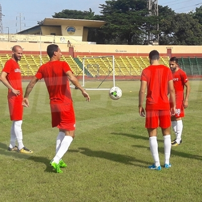 Séance d'entrainement de l'EN au stade 2 septembre à Conakry