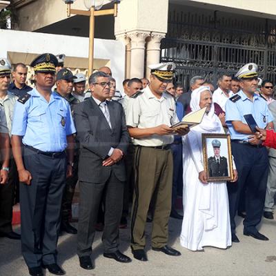 Hommage aux martyrs de l'opération de Sidi Ali Ben Aoun