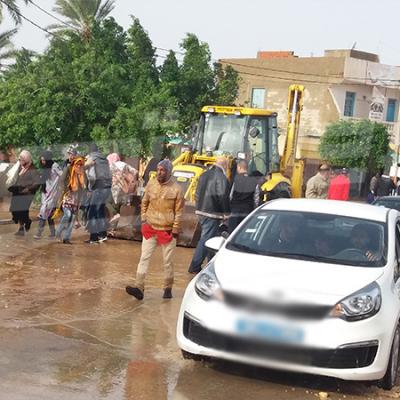 Gabès: les dégâts causés par les pluies à Mareth