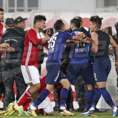 في مباراة انتهت بمشاهد عنف: الترجي يفرض التعادل على النجم أمام جمهوره