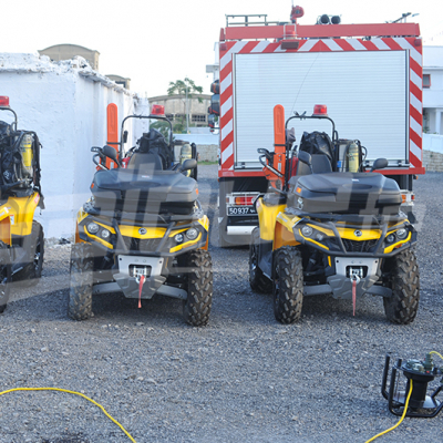 L'Allemagne offre 12 véhicules à la protection civile
