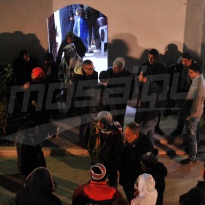 Mosaïque FM au domicile du martyr, Mohamed Ben Belgacem