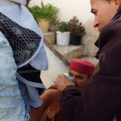 سجنان :الأمن يستعمل الغاز المسيل للدموع لتفريق المحتجين