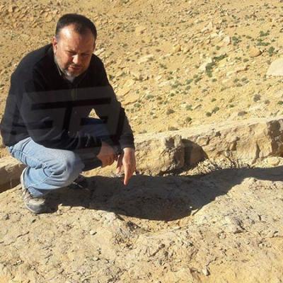تطاوين :العثور على أكبر و اوضح آثار أقدام ديناصور