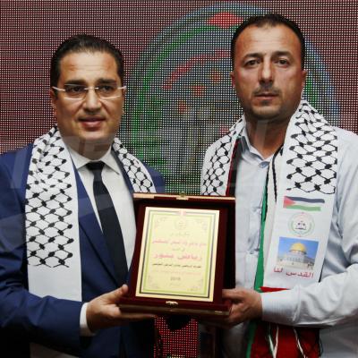 حفل توقيع  التوأمة بين الترجي و ترجي وادي النيص