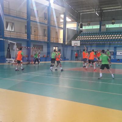 Dernière séance d'entrainement de l'EN de Hand avant le match contre le Cameroun