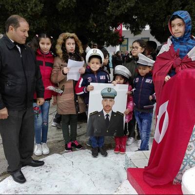 Hommage aux enfants du martyr Abdelhamid Ghazouani