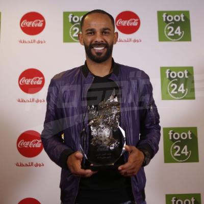 صابر خليفة يتوج بجائزة أفضل لاعب لشهر جانفي