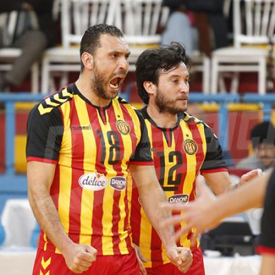البطولة العربية للأندية البطلة للكرة الطائرة: الترجي إلى نصف النهائي