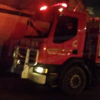 صفاقس: حريق هائل بمخزن البلاستيك ومادّة الكلور بساقية الزيت