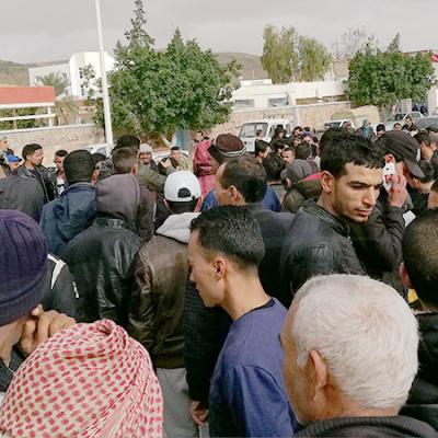 تطاوين :تجدد الاحتجاجات تحت شعار 'ان عدتم ... عدنا '