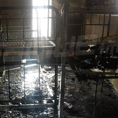 النيران تأتي على كامل مبيت الذكور بمعهد حي الشباب بقفصة