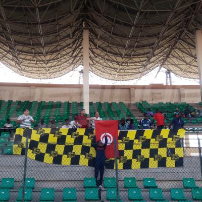 Séance d'entraînement de l'USBG au stade Mabeda Senba à Brazzaville