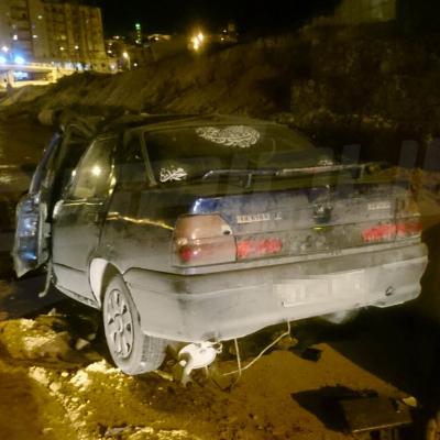 وفاة سيدة واصابة 7 أشخاص في حادث بطريق X20 بين النصر وحدائق المنزه