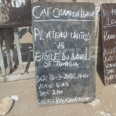 Etoile S.Sahel :  Dernière séance d'entrainement avant le match de Plateau Utd