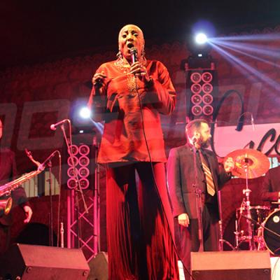 Clôture du Sicca Jazz : Martha High a conquis le public de la Kasbah
