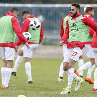 الحصة التدريبية الأخيرة للمنتخب قبل مباراته ضد إيران