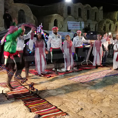 Les poètes de Tataouine a Ksar Ezzahra à Tataouine