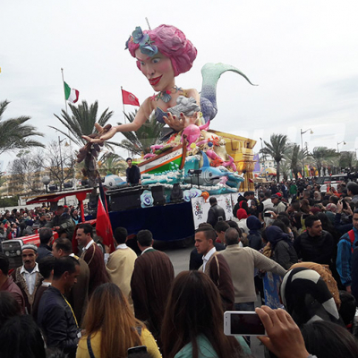 5ème édition du Carnaval Yasmine Hammamet