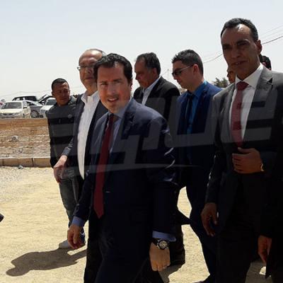 وزير الصناعة يدشن شركة مياه معدنية بالقيروان