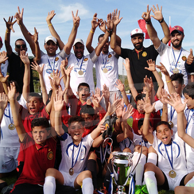 L'EST remporte la Danone Nations Cup