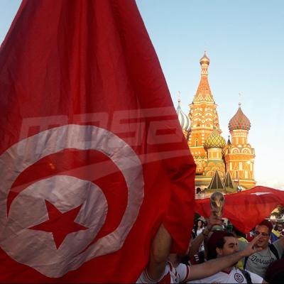 الجمهور التونسي 'يحتل' الساحة الحمراء
