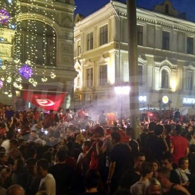 La veille de la rencontre Tunisie-Belgique : Le drapeau de la Tunisie orne toutes les places de Moscou