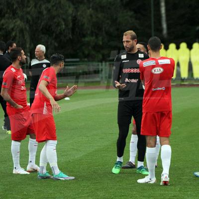 المنتخب الوطني: الحصة التدريبية قبل المباراة ضد بنما