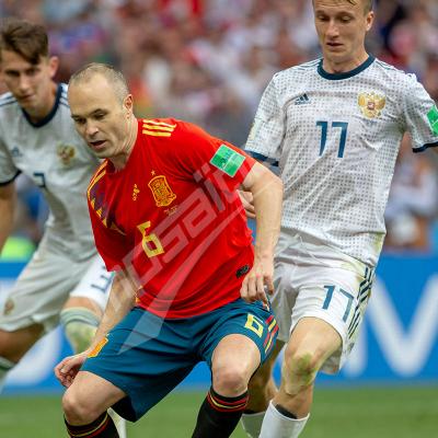 Russie 2018 - 8ème de Finale : Russie Vs Espagne