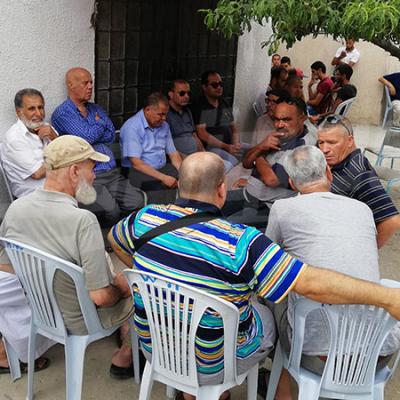 Zarzouna: la famille du martyr Hamza Dalleli reçoit les condoléances