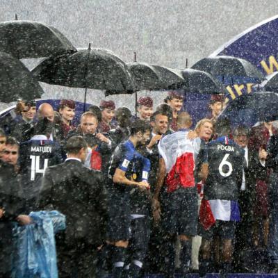 منتخب فرنسا بطل العالم للمرة الثانية في تاريخه