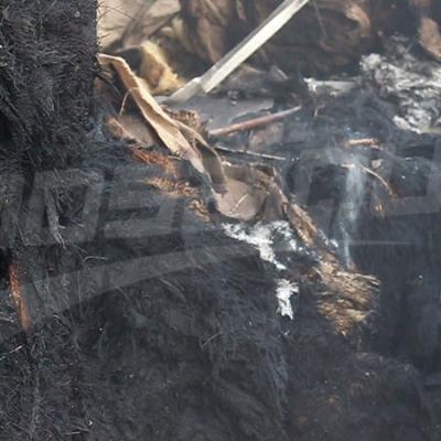Les dégâts provoqués par l'incendie de la cité El Khadhra